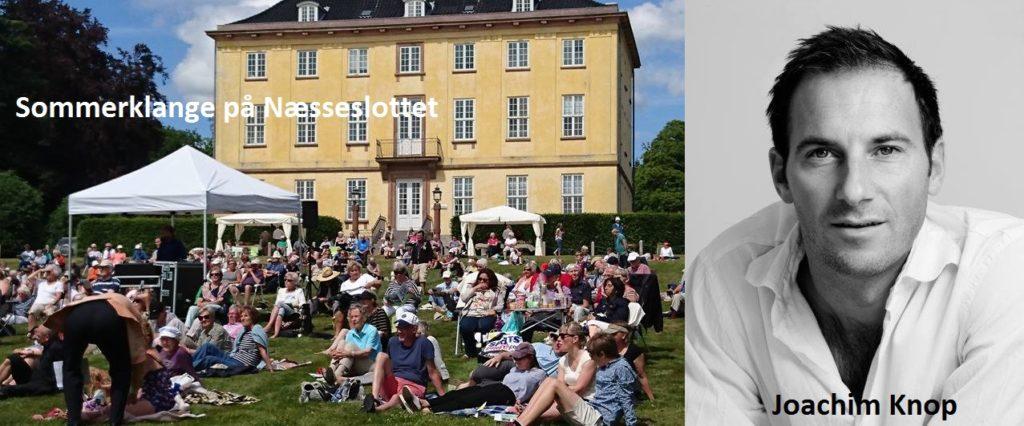 Næsseslotkoncert med Joachim Knop
